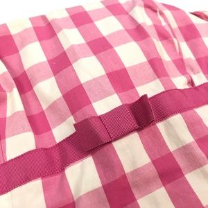 Lilly Pulitzer Dresses - Lilly Pulitzer pink and white gingham dress sz 0